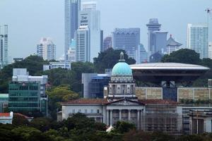 singapore stadsbild foto