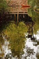 reflektions trädgård av den ödmjuka administratören Suzhou Kina foto