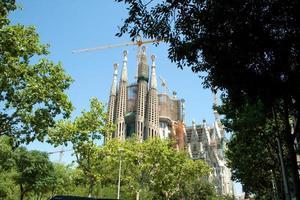 basilica of sagrada familia foto