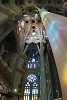 sagrada familia interiör