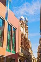 utsidan av Palau de la musica i Barcelona foto