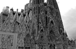 sagrada familia i barcelona foto