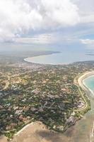 Flygfoto över Dar es Salaam foto