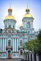 st. nicholas marinkatedral. Petersburg. ryssland foto