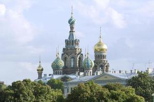 Frälsarens kyrka på spillt blod foto