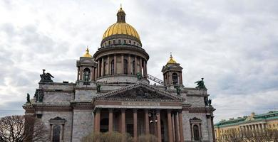 saint isaacs katedral i St Petersburg, Ryssland foto