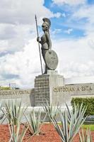 turistmonument från staden guadalajara foto