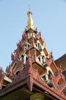 shwedagon pagod, yangon, myanmar foto