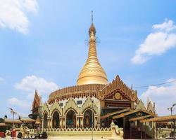kaba aye pagod i yangon, burma (myanmar) foto