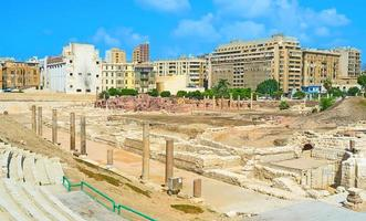 den romerska staden foto