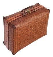 vintage resväska foto