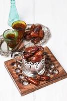 traditionell ramadanmat foto