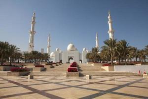 sheik zayed moské, abu dhabi, uae foto