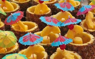 ananas dryck foto