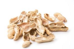 rostade jordnötter foto