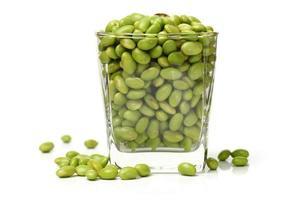 gröna sojabönor foto