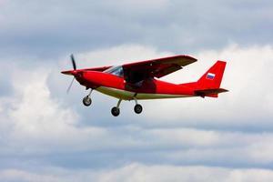 lätt flygplan foto