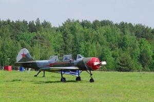sport propellerflygplan foto