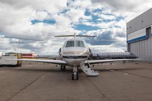 vit reaktiv privat jet foto