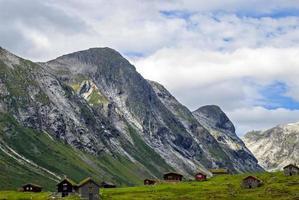 norge, fantastiskt landskap foto
