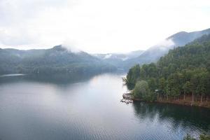 landskap med sjön foto