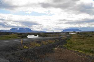 landskap i Island