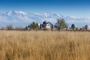landskap nära almaty, kazakhstan foto