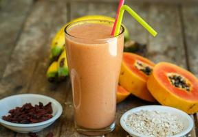 papaya smoothie foto