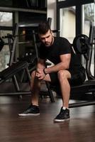 vila mellan uppsättningar och övningar
