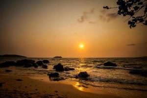 tropiska landskap av Koh Rong