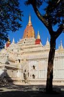 ananda tempel i bagan, myanmar foto