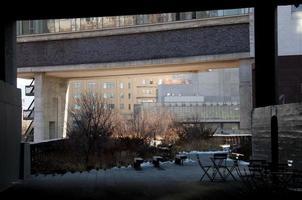 hög linje vinter foto