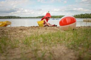 dag vid sjön foto