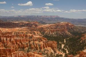 landskap scen från Bryce nationalpark foto