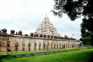 kailasanathar tempel i kanchipuram foto