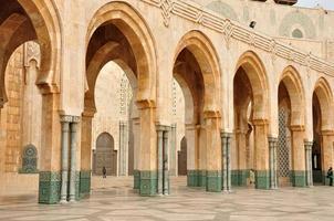 moskén hassan ii i casablanca foto