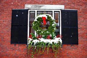 boston vinter foto