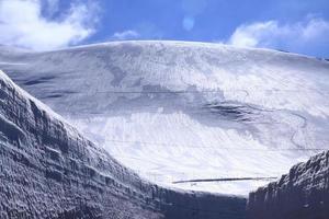 japan alper på vintern foto