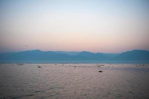 myanmar sjön