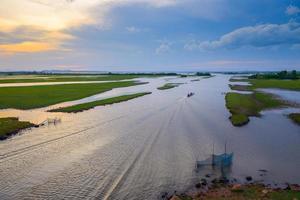 sjön phatthalung foto