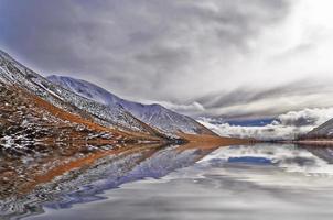 glaciärsjön foto