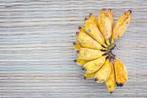 banan på matta foto