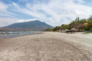 santo domingo beach, ometepe island, nicaragua foto