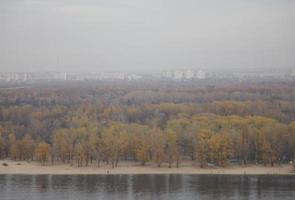 panorama av kiev foto