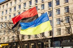 euromaidan - Ukrainas enhet foto