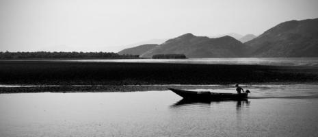 skadar sjön, montenegro foto
