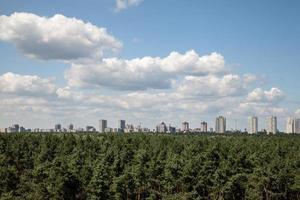 cityline kyiv från taket foto