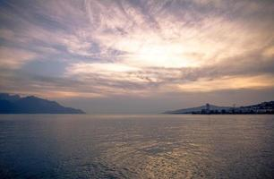 sjön Genève foto