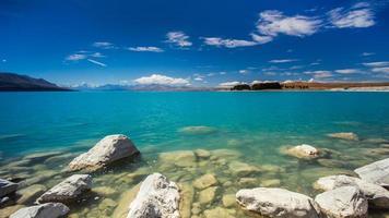 sjön Pukaki foto