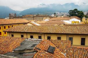 utsikt över la candelaria, Bogota foto